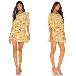Faithfull the Brand Jasmin Yellow Jeanette Dress